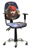 кресло Бридж хром/Дисней/Пираты/Джек Воробей