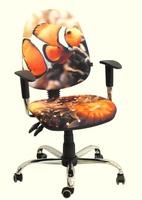 Стул кресло для детей и подростков AMF кресло Бридж Дизайн Рыбка