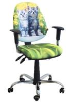 Стул кресло для детей и подростков AMF кресло Бридж Дизайн Котики