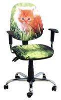 Стул кресло для детей и подростков AMF кресло Бридж Дизайн Котёнок